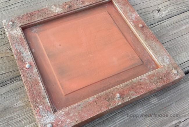 Rustic Frame - Process