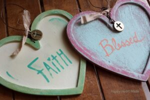 Wooden Hearts-Finished