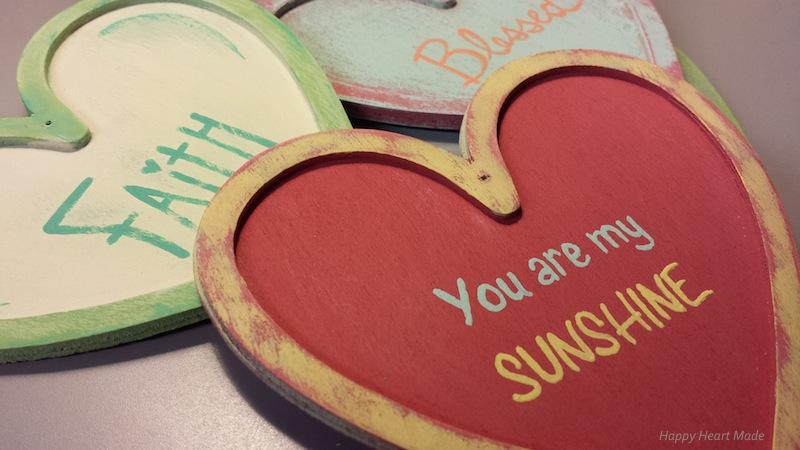 Wooden Hearts - Words