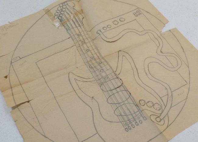 Guitar hook rugs