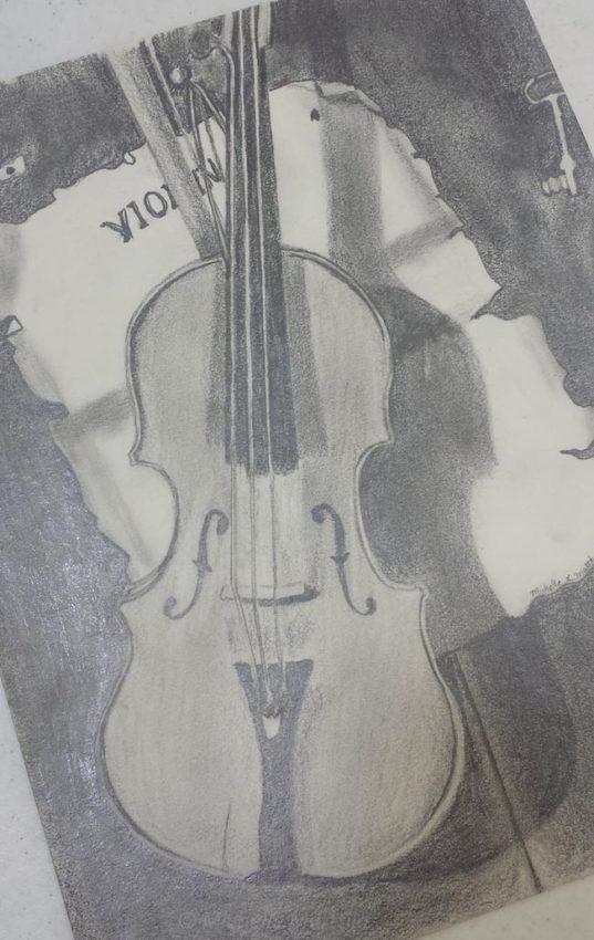 Violin Artwork
