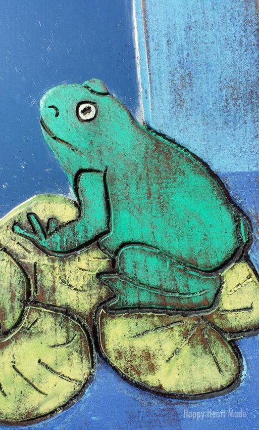 Frogger Mirror