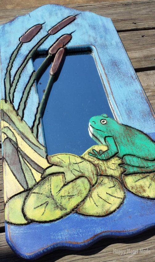 Full Frog Mirror