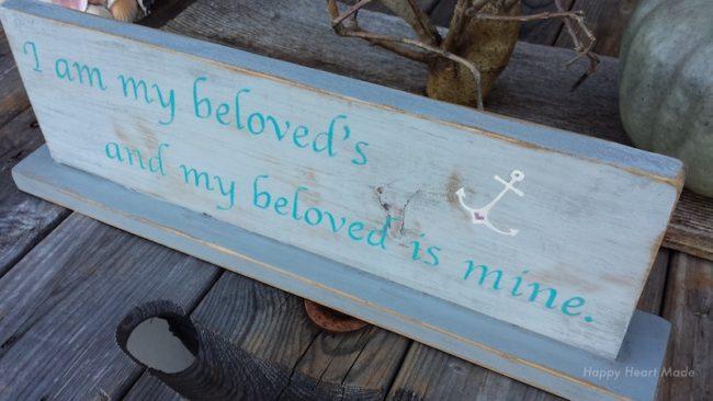 Sign:beloved