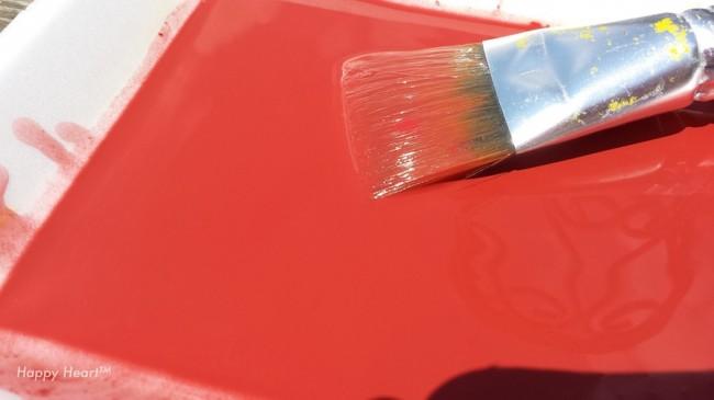 CS Red wash