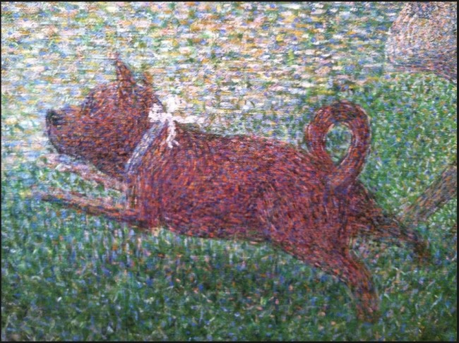 """Art For Little Eyes"" – May Workshop (George Seurat)"