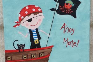 Ahoy Mate! – Kids Art Workshop