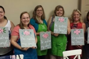 Psalm 23:3 Art Workshop Highlights!